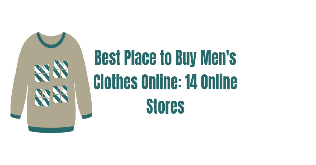 A fine shirt with best place to buy men's clothes online written there