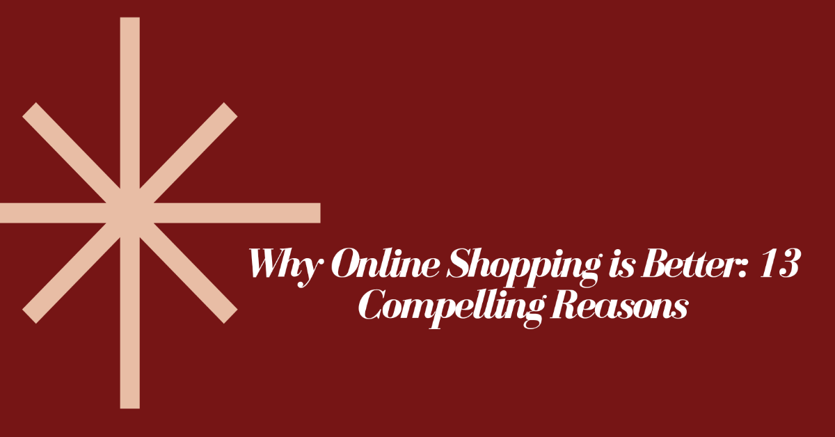 why online shopping is better tomvad