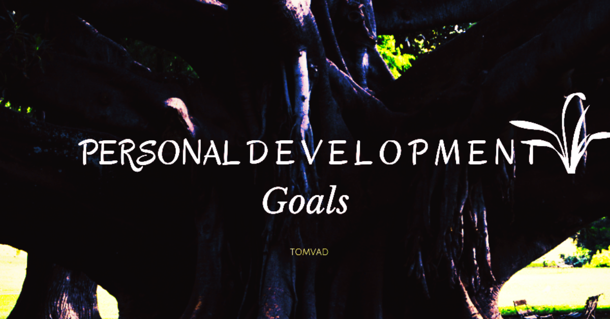 a tree representing personal development goals for growth