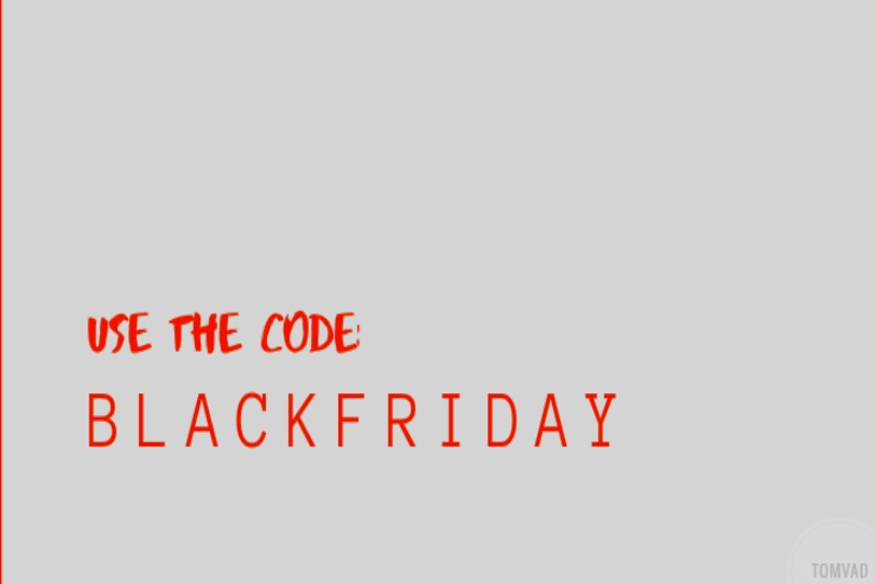 the black Friday code