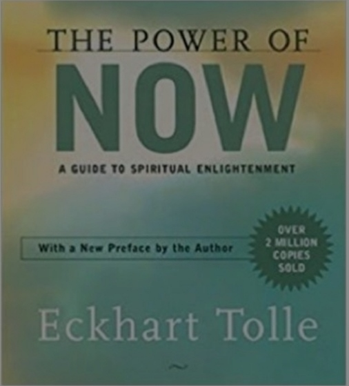 Eckhart Tolle's book on personal development