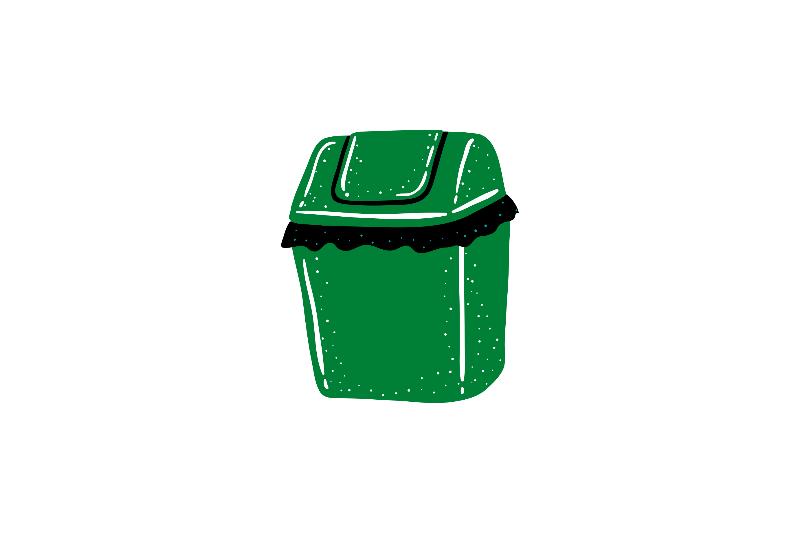 A dust bin