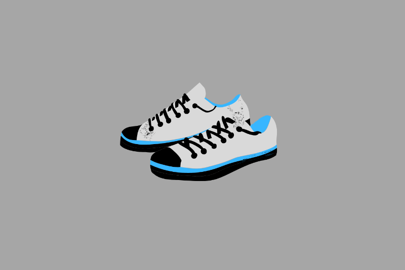 Neat sneakers that offer personal hygiene tips for students