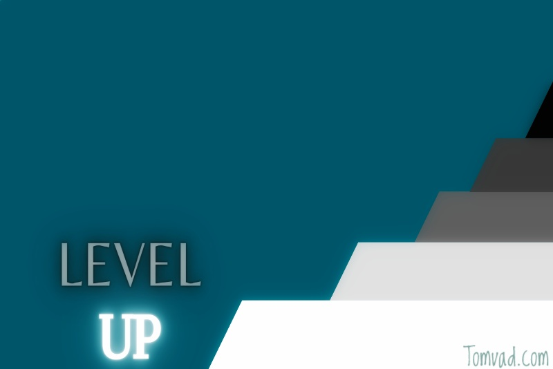 stairs showing leveling up
