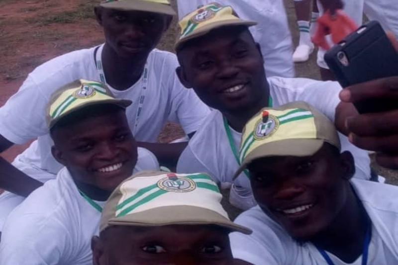 Corps member on their 20th day